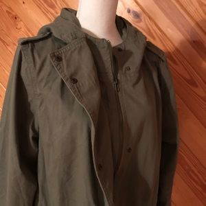 Forever 21 Jackets & Coats - Forever 21+ Olive Green Safari Jacket